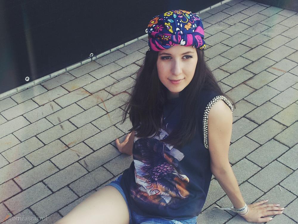 outfit turban lush festival openair bayaosummerdance  essen