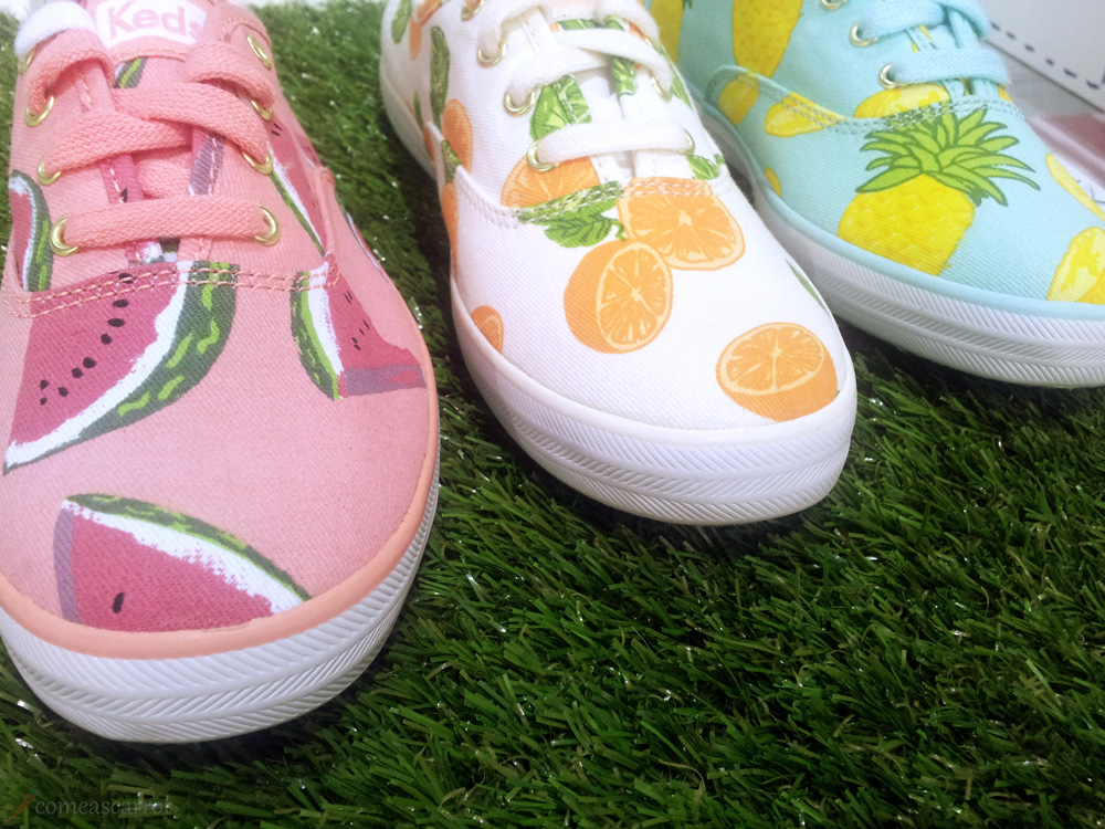 comeascarrot, fashionbloggercafe, gds shoefair, bbb, keds, sneaker, melon, fruit