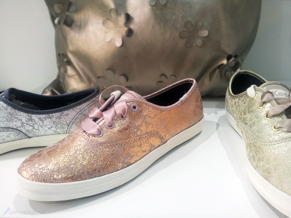 comeascarrot, fashionbloggercafe, gds shoefair, bbb, keds, sneaker, rosegold
