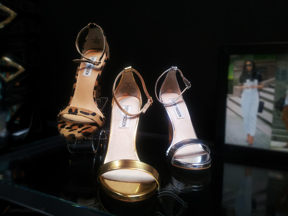comeascarrot, fashionbloggercafe, gds shoefair, steve madden, high heels, new collection, leo, pumps width=