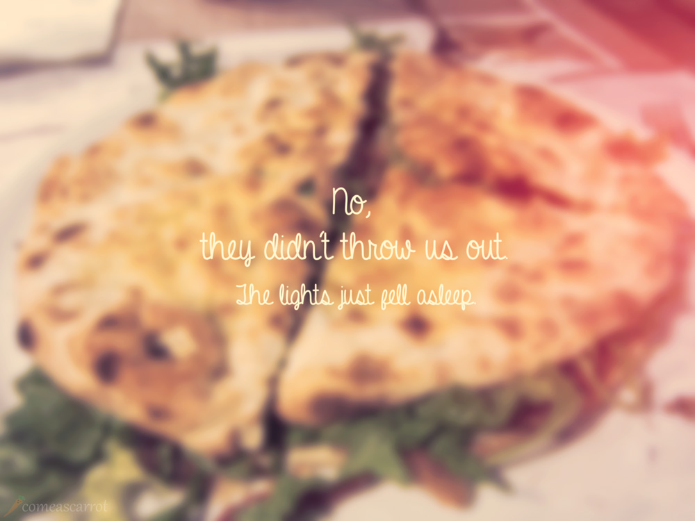 food, rome, roma, osteria, pizzeria margherita, quote, story, funghi