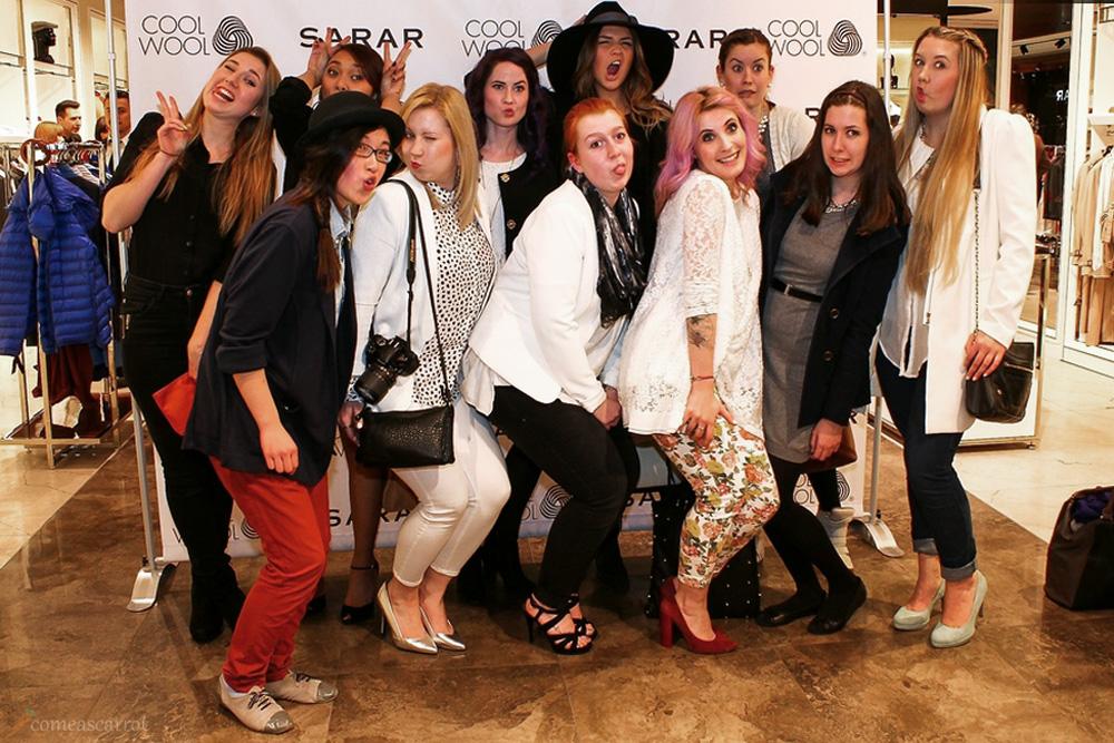 blogger, oscar selfie, group picture, #lbmtblbf, düsseldorf, gruppebild, grimasse