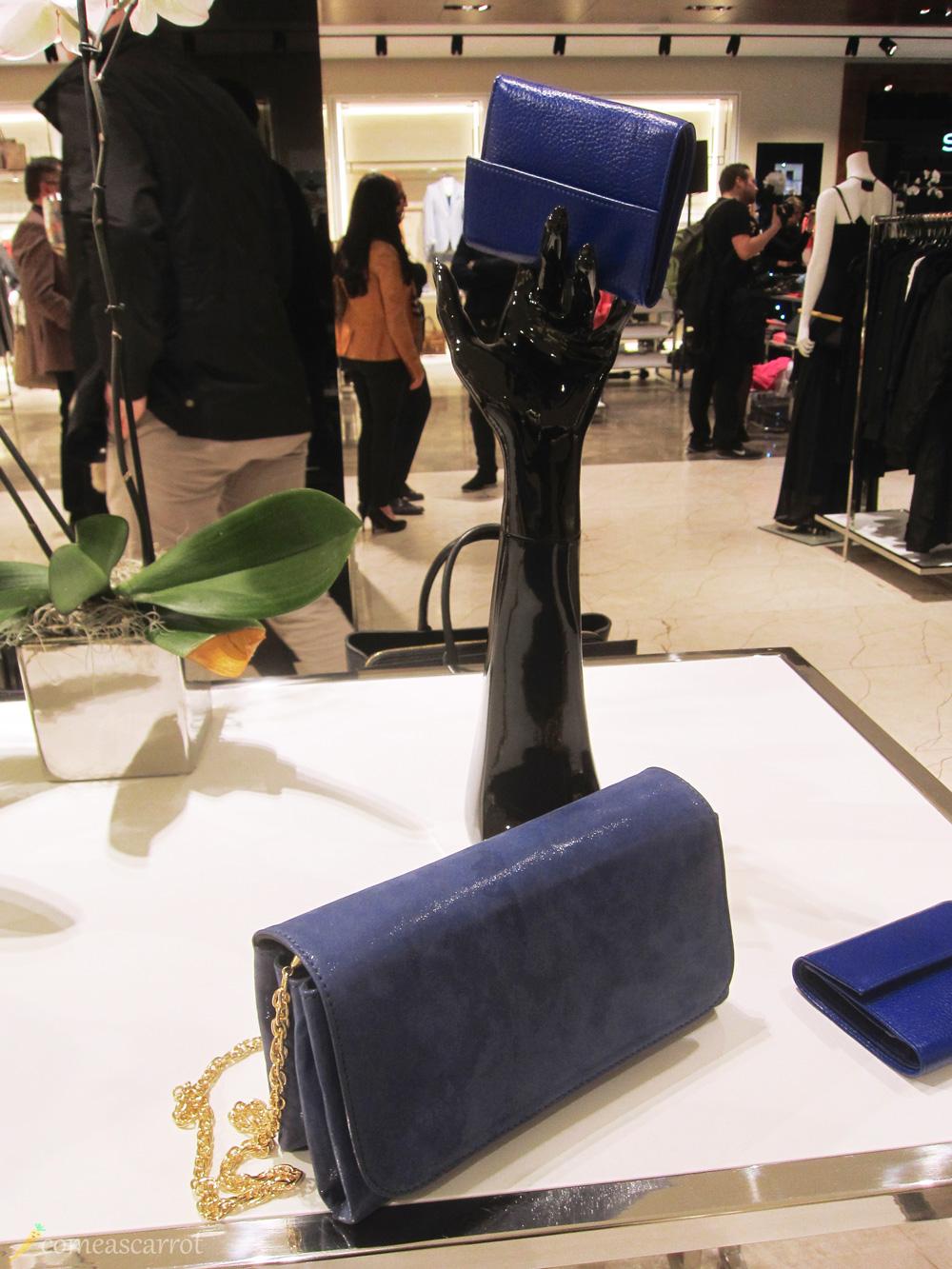 sarar, düsseldorf, bag, blue, clutch, kettenhenkel, blaue, tasche, fashion, accessoires