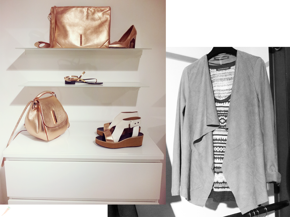 munich, münchen, press days, press open, fashion, rosegold, bag, high heels, comptoir des cotonniers, jacket