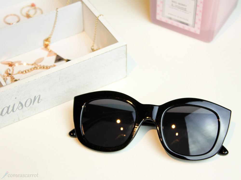 favorite, jewelry, accessory, lespecs, sunglasses, shades, runaways, black