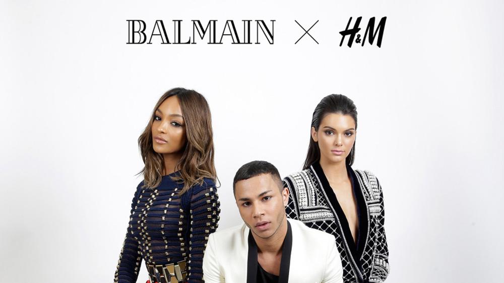 fashion news, H&M, balmain, designer collaboration, 2015