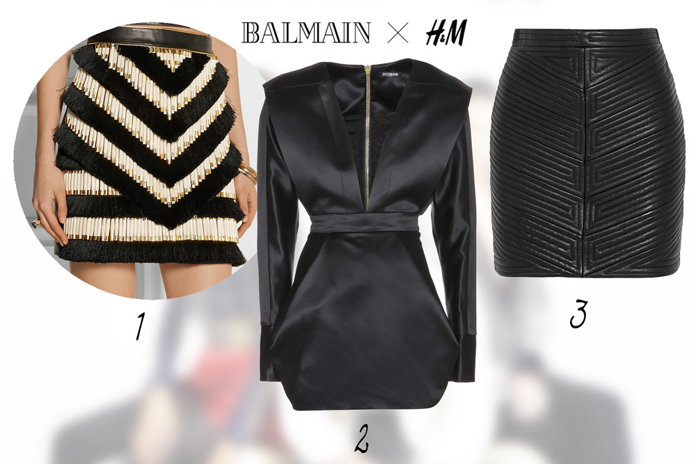 fashion news, H&M, balmain, designer collaboration, 2015,. skirt, dress