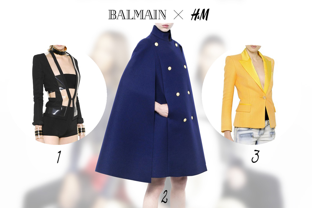 fashion news, H&M, balmain, designer collaboration, 2015, blazer