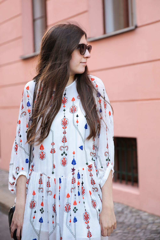 outfit, white, zara, dress, berlin, fashion week, streetstyle, outfit, mango, schnürsandalen