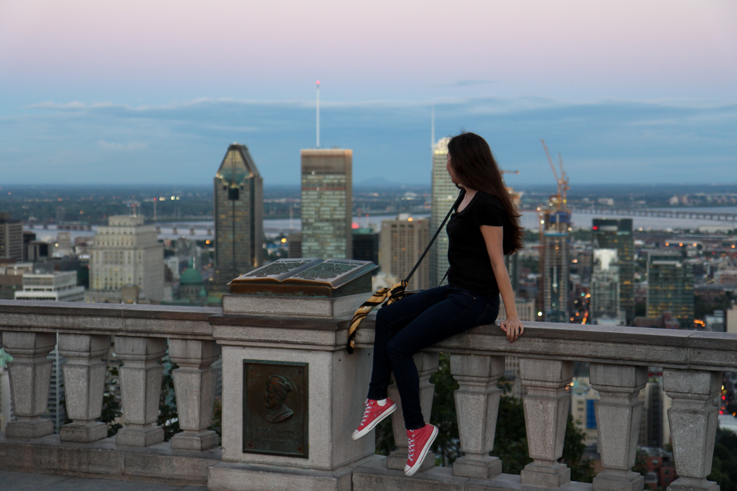 montreal, canada, travel, reise, tipps, fashion blog, sighseeing, sehenswürdigkeiten, mount royal, outfit, skyline