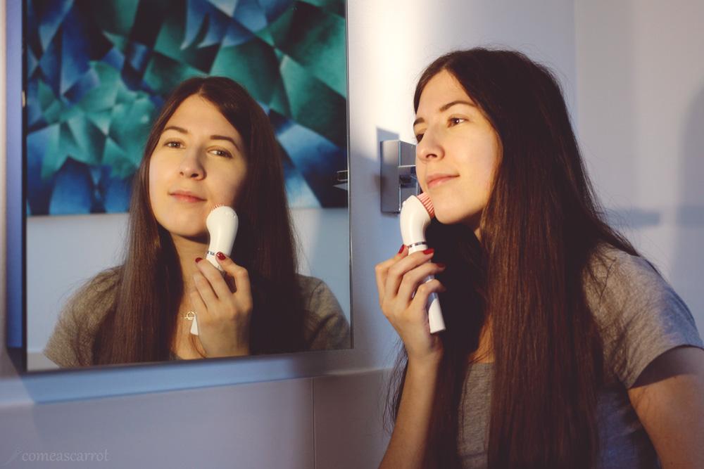 review, braun facespa, sensitive, beauty, gesichtsbürste, facebrush, gesichtsepilierer, hautreinigung, test