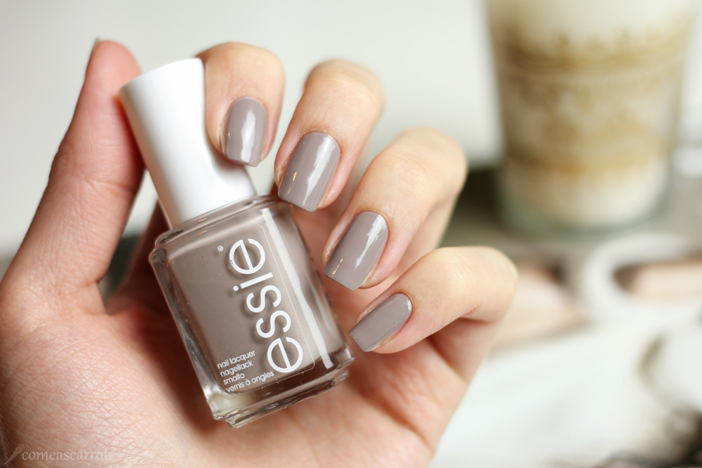 manicure, essie, miss fancy pants, taupe, grau, swatch, farbe, nagellack
