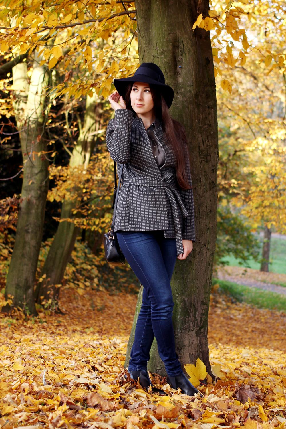 outfit, reserved, concept, hat, holt renfrew, buffalo, fall, herbst, blazer, kimono, hut im herbst kombinieren